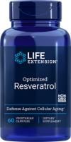 Optimized Resveratrol 60 vegetarian capsules - Product Image